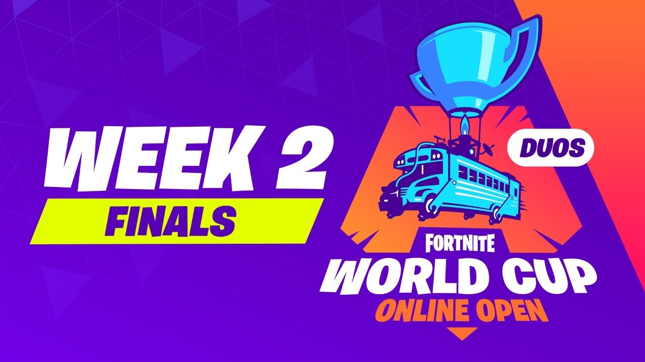 Fortnite World Cup Week 2 Finals Youtube