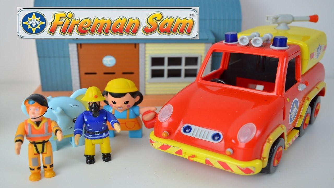 Fireman Sam Episode fire engine fireman sam Toys Feuerwehrmann Sam