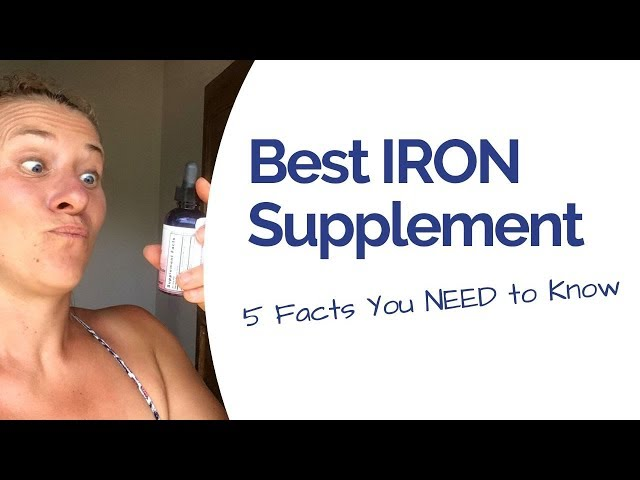 Best Iron Supplement - Don't take anything before watching THIS!