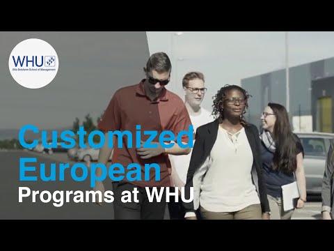 WHU European Short Term Programs