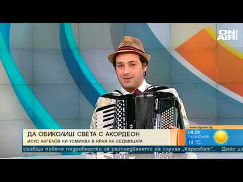 Isus Angelov - An Interview in TV Bulgaria On Air - 07.09.2018