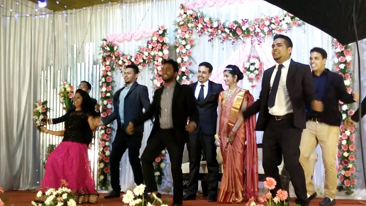 Dancing Total South Indian Style On A Friends Wedding Youtube