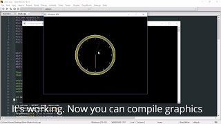 Include graphics.h in CodeBlocks - Run Graphics Program in C++