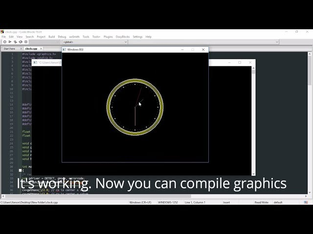 How to Include graphics h in Code::Blocks - C++ Graphics Program