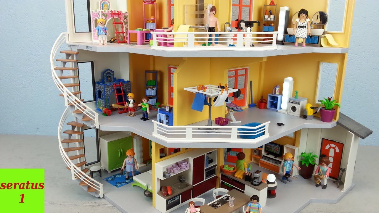 beautiful playmobil modernes villa pictures amazing. Black Bedroom Furniture Sets. Home Design Ideas