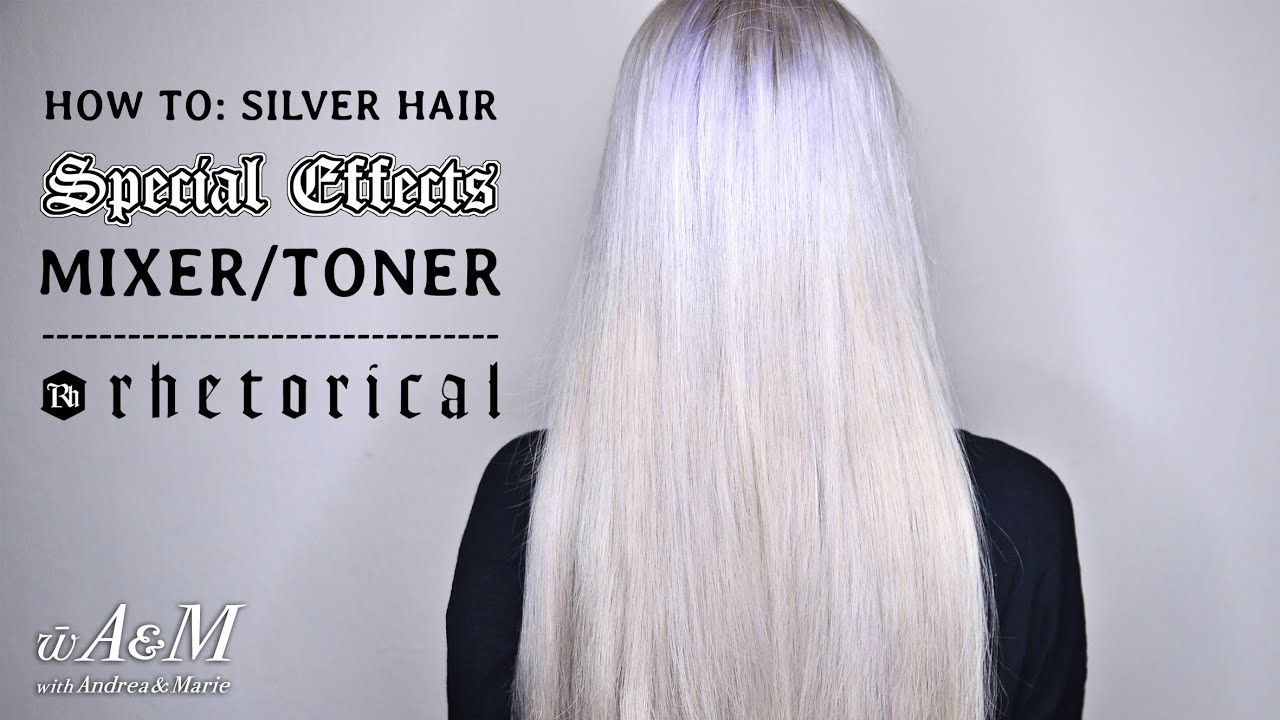 How To Silver Hair Special Effects Mixer Toner Hd