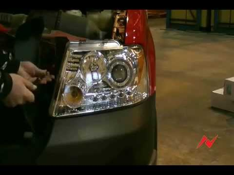 anzo halo headlight installation