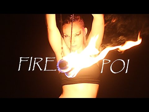 Ultimate FIRE Dance Performance with Poi!