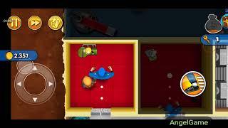 Robbery Bob - Bonus Chapter (Challenge) Level 1 Gameplay Video