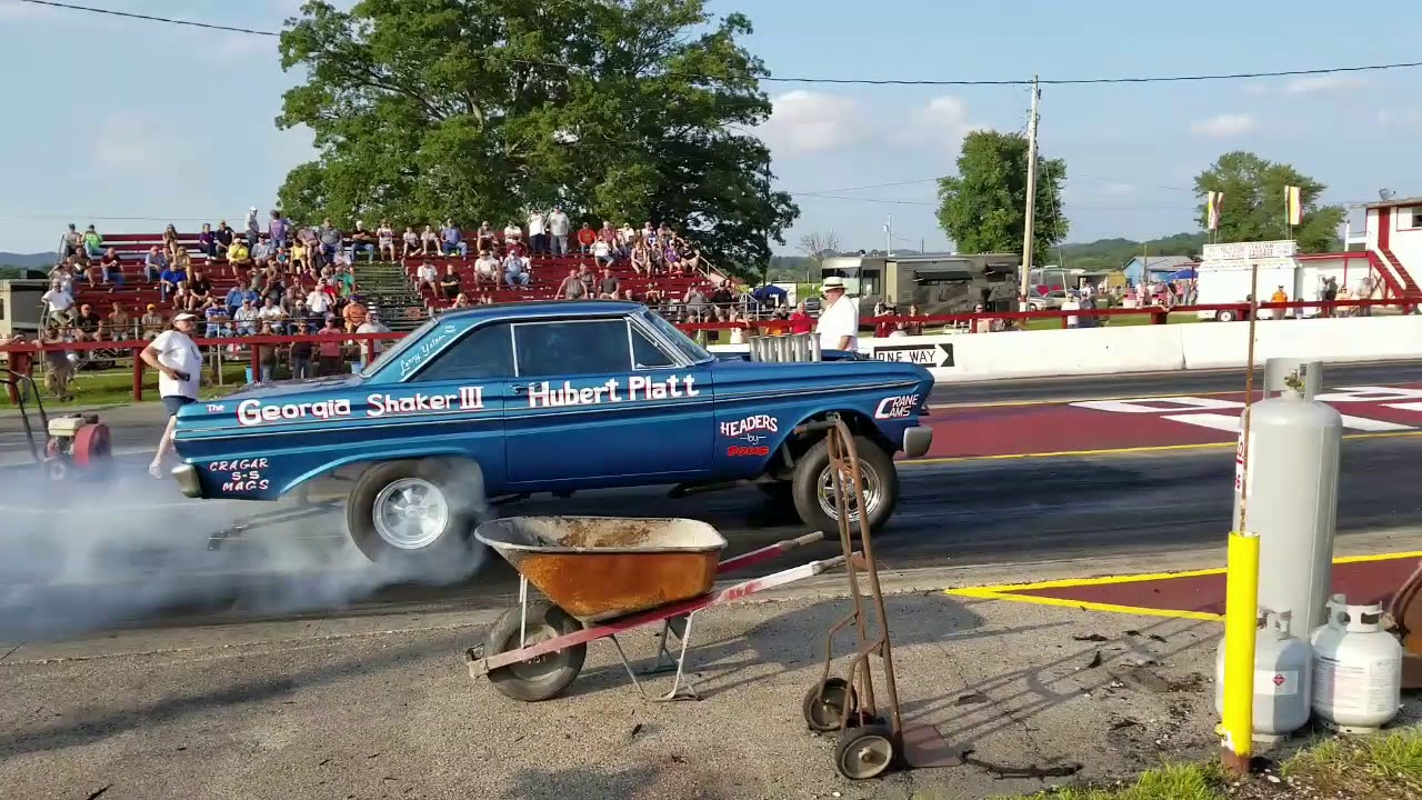 Southeast Gassers at Mountain Park Dragway, Clay City, KY 2017