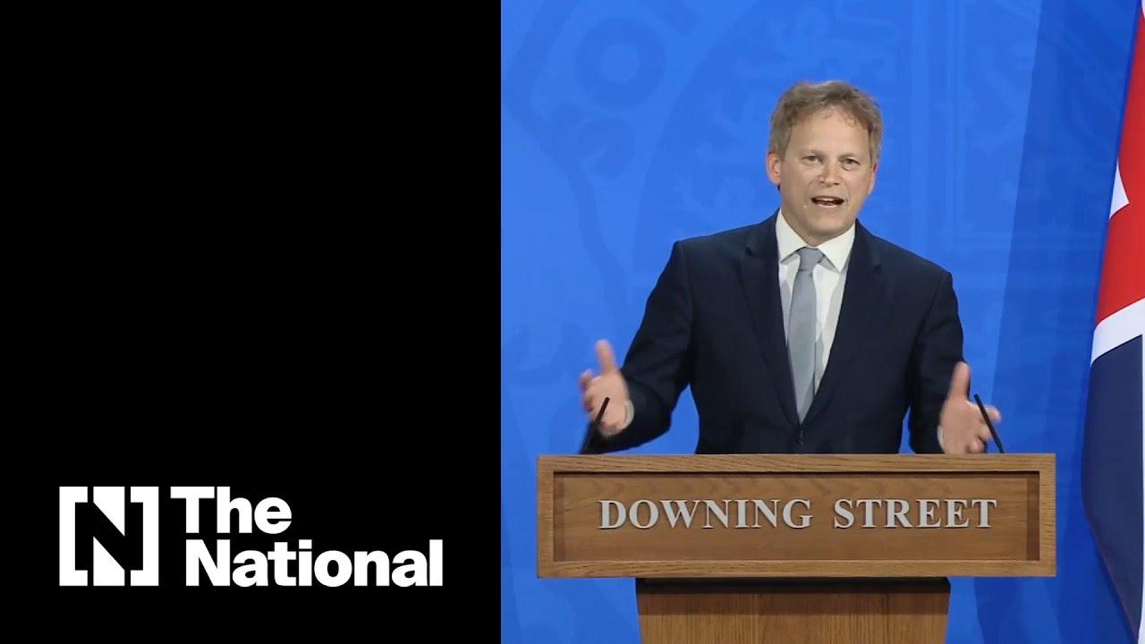 UK transport secretary announces easing of Covid travel restrictions