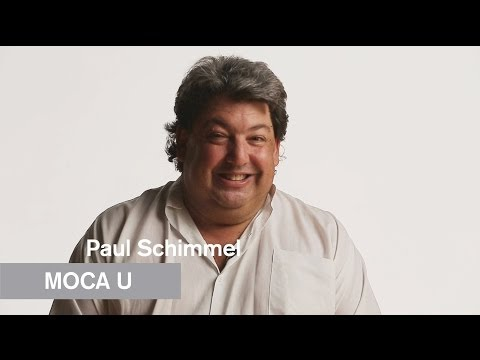 Mike Kelley - Paul Schimmel - MOCA U - MOCAtv
