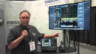 IWCE 2016 Product Demo: R8100 Service Monitor - Freedom Communication Technologies