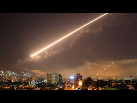 Mỹ Anh Pháp tấn công Syria vì sử dụng vũ khí hóa học