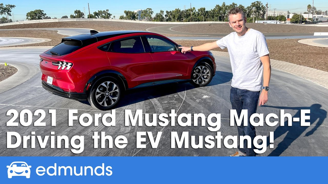 2021 Ford Mustang Mach E Review The Electric Mustang Suv Price Interior Range More Youtube