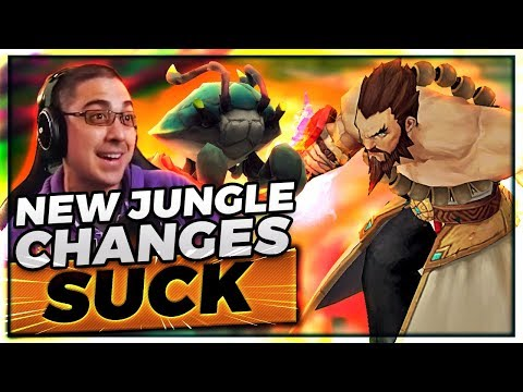 TRICK2G & THE NEW JUNGLE CHANGES.... | LEAGUE OF SCUTTLE CRAB???