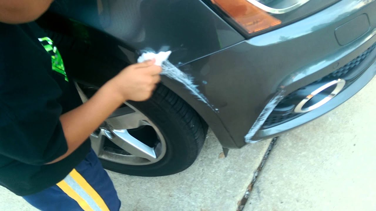 Remove Car Scratches With Toothpaste >> Fix car scratch with toothpaste ( 1 of 2) - YouTube