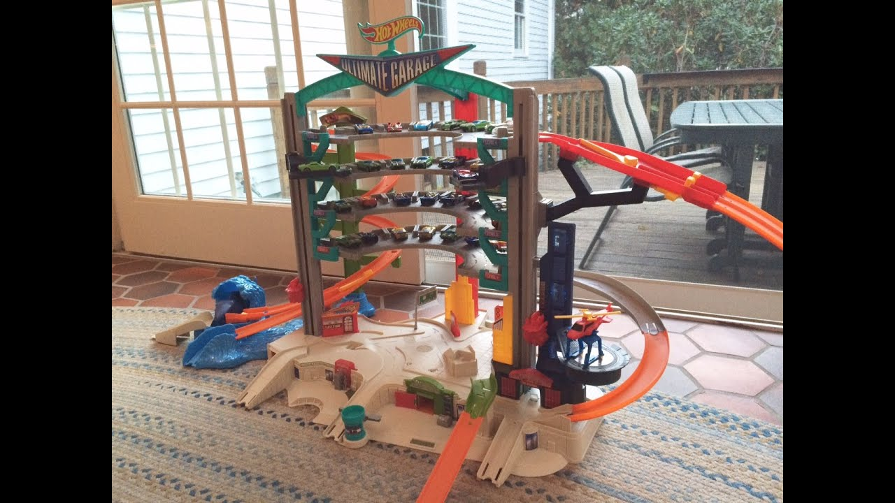 HOT WHEELS ULTIMATE GARAGE  Toy Review - YouTube