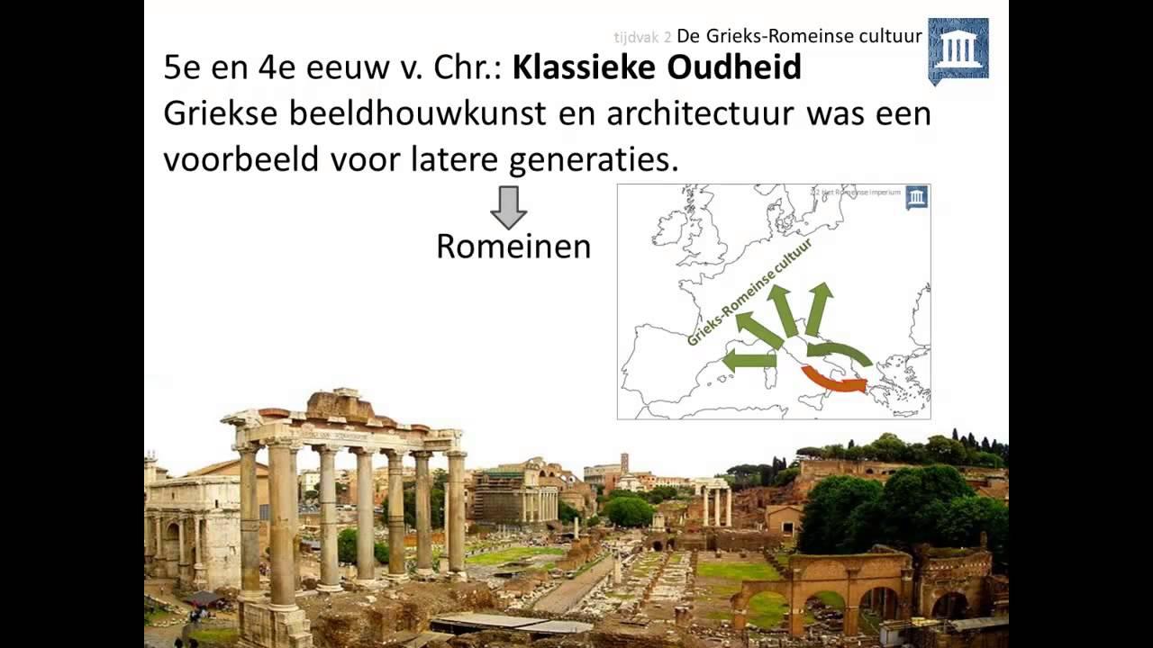 Verwonderend 2. De Grieks-Romeinse cultuur - YouTube VJ-79