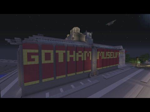 Minecraft Gotham City: Museum