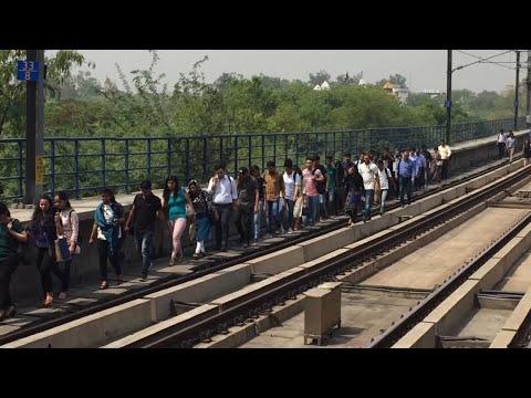 Delhi Metro: Passengers stranded at Chattarpur station after technical snag