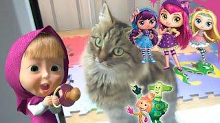 Мультики которые смотрит Алиса, закрываем кошку на балконе
