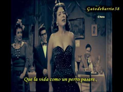 """María Victoria  """"Como un perro""""  (1956)"""
