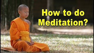 How To Meditate How To Do Meditation Meditation For Beginners