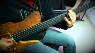 WANDERING-FRETLESS BASS SOLO- (JCR CUSTOM) by Jesus Rico