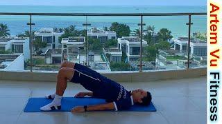 Упражнения для Ног и Ягодиц Дома Стройная Красивая Фигура за 8 минут АртемФитнес