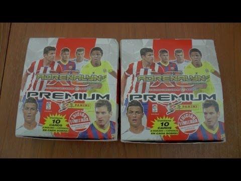 UNBOXING | PREMIUM BOOSTER BOX 20x PACKS | panini Adrenalyn XL Liga BBVA 2013 / 2014