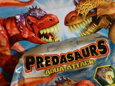 DINOSAURES DRAGONS PREDASAURS AQUA ATTACK