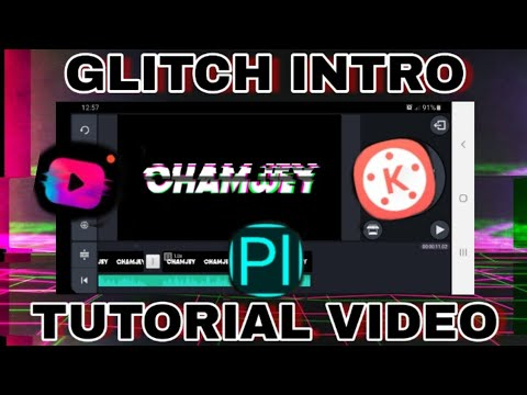 GLITCH INTRO TUTORIAL | ChamJey thumbnail