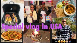 Ruby's family special vlog   teen celebration ek sath   special cooking for my dad birthday 🎂🎈🎁🎊