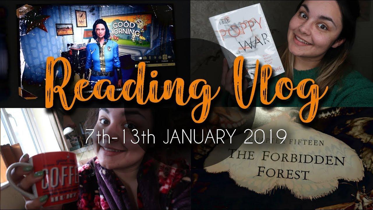READING VLOG #23 // Game of Thrones, Harry Potter & The Poppy War // 2019