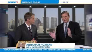Video Abraham Foxman: The Anti-Defamation League's national download MP3, 3GP, MP4, WEBM, AVI, FLV Juli 2018