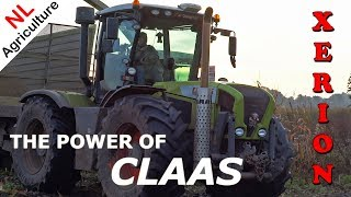 The power of CLAAS XERION TRAC VC in the Netherlands | PURE SOUND!!