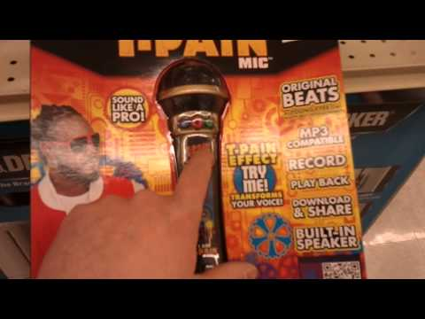 T-Pain Microphone! - YouTube