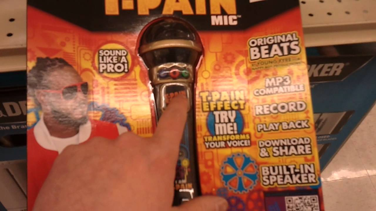 T-Pain Microphone!