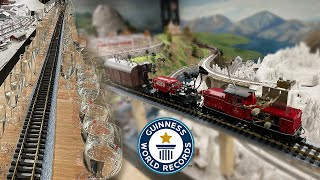 MUSICAL MODEL TRAIN - Guinness World Records