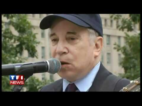 Paul Simon Sound of Silence Ground Zero 9/11 HD