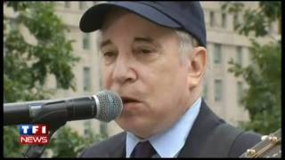 Repeat youtube video Paul Simon Sound of Silence Ground Zero 9/11 HD