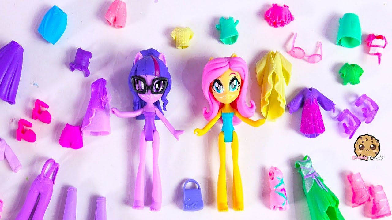 My Little Pony Clothing + Shoes Dress Up Sleep Over Slumber Party Video image