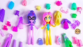 My Little Pony Clothing + Shoes Dress Up Sleep Over Slumber Party Video