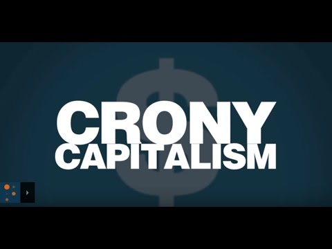 Crony Capitalism IS Capitalism. Capitalism As An Ideal Will Lead to Cronyism Due to Incentives