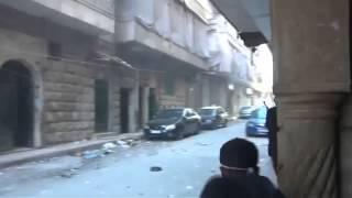 حلب-الأعظمية  لحظات دخول المجاهديين و الانغماسيين لحي الأعظمية قبل استشهادهم بدقائق