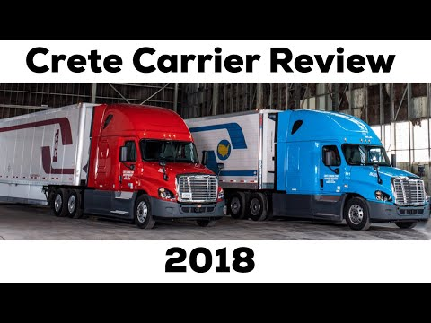 Crete Carrier / Shaffer Trucking Review  Training , Company Driver & Owner Operator Pay 2018