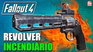 Fallout 4 - REVOLVER INCENDIÁRIO ( O Ganhador ) [ Localização e Gameplay ]