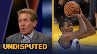 Skip bayless on kevin durant calling out his haters with new shoes: 'this is who he is' | undisputed