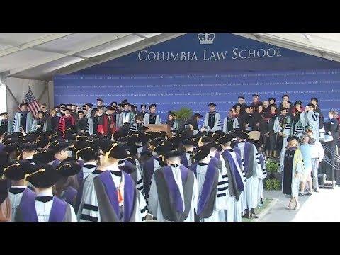 Columbia Law School Graduation 2017